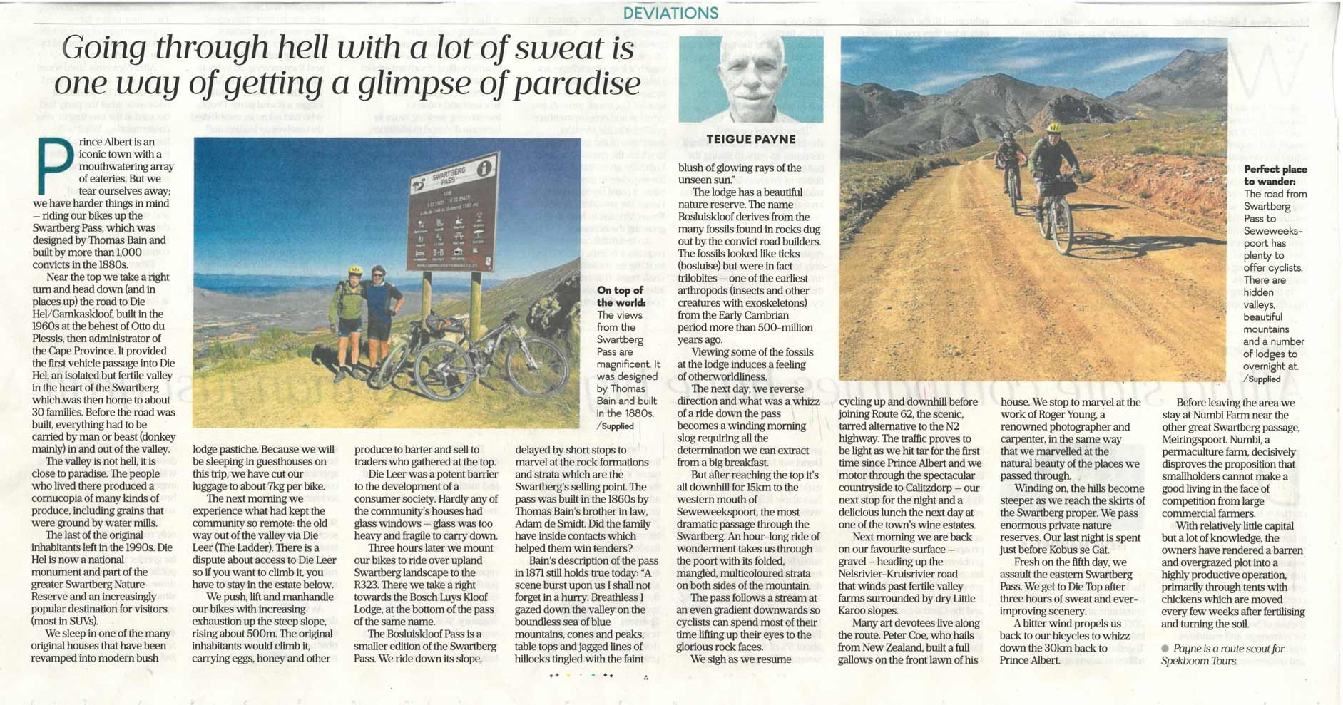 Business Day article